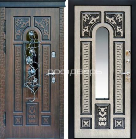 Входная дверь в коттедж с терморазрывом PD-4061 - купить в Твери в компании Профдверь